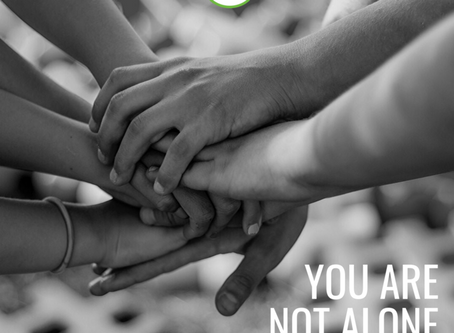 "YOU ARE NOT ALONE – JOIN A GROUP THAT ""GETS IT!"""