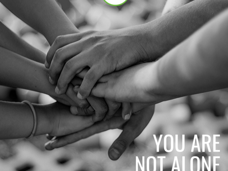 """YOU ARE NOT ALONE – JOIN A GROUP THAT """"GETS IT!"""""""