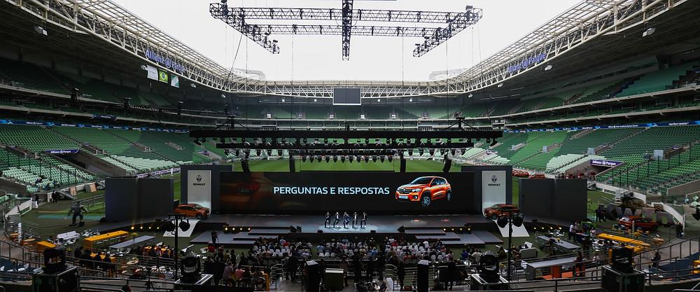Evento da Renault no Allianz Parque