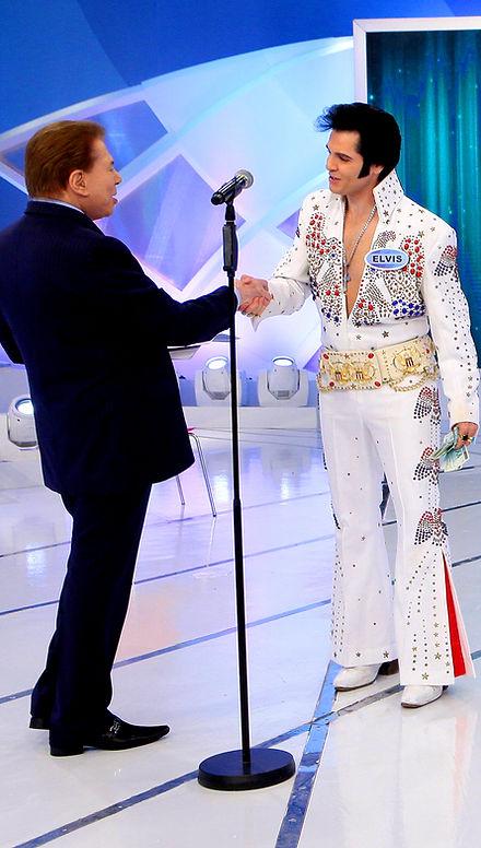 RENATO Elvis Cover E SILVIO SANTOS