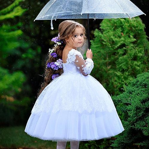 Elise flower girl dress