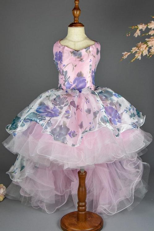 Lilt  Angel High Low Dress