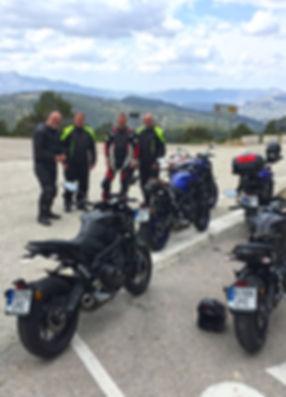 Motorbike holidays in Spain