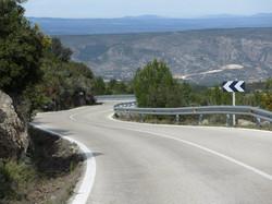Quiet roads no traffic