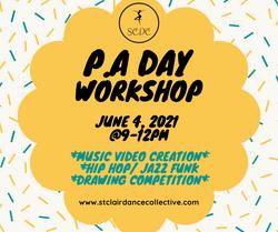 Virtual P.A day workshop