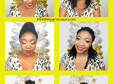 6 ways to style your Faux Locs Crochet hair