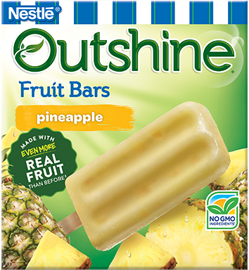 Outshine Pineapple bars