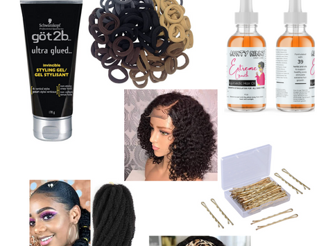 3 Natural Hair Looks perfect for Valentines Day or Special Occasion