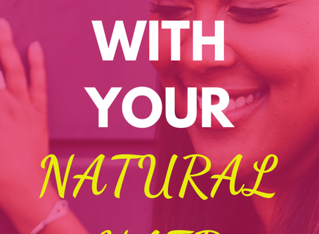 How to elevate your style with your natural hair