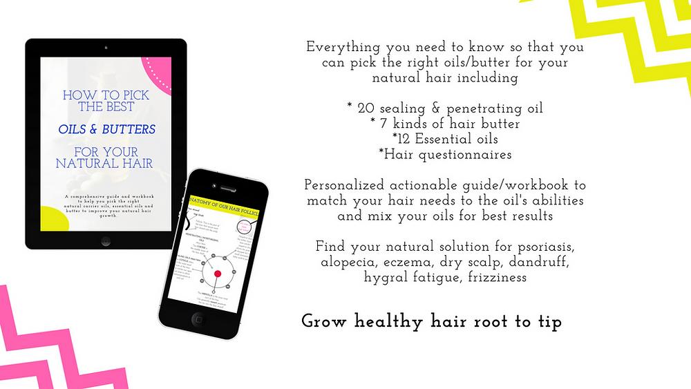 Grow healthy natural hair ebook