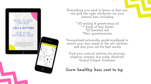 Grow healthy natural hair ebook