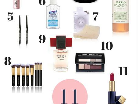 "11 Everyday ""on the go"" Makeup Bag Essentials"