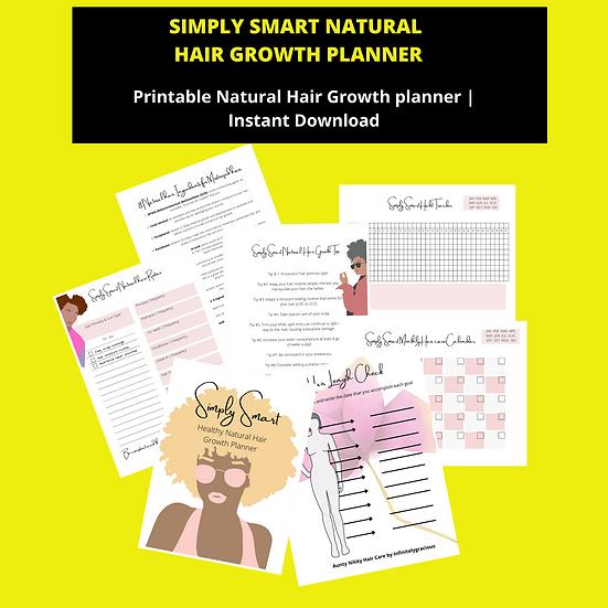 Hair Growth Printable- Digital Copy only