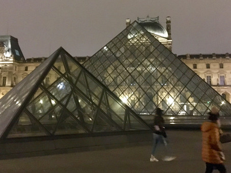 Christmas in London and New Year's in Paris