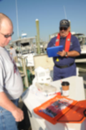 US Coast Guard Auxiliary Vessel Safety Check