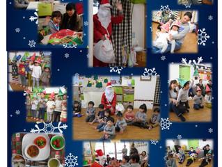 クリスマス&給食参観