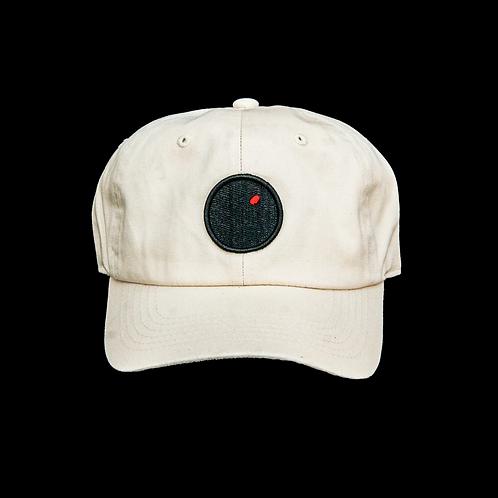 """Red Dot Plots"" Hat (Cream)"