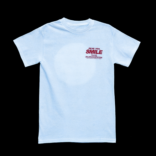 """Dear You, Smile."" T-Shirt (White)"