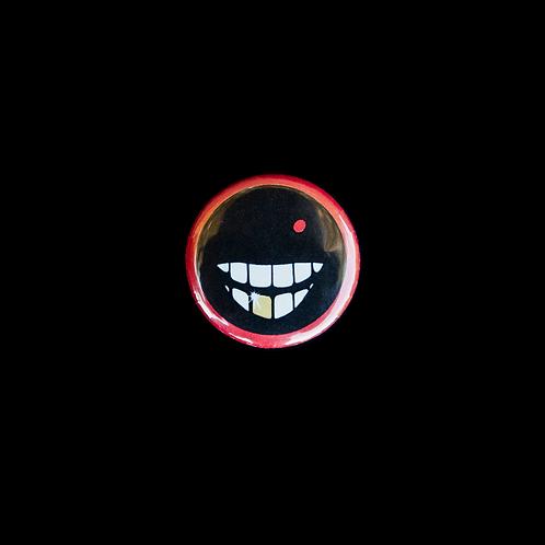 """Smile"" Pin-Back Button"