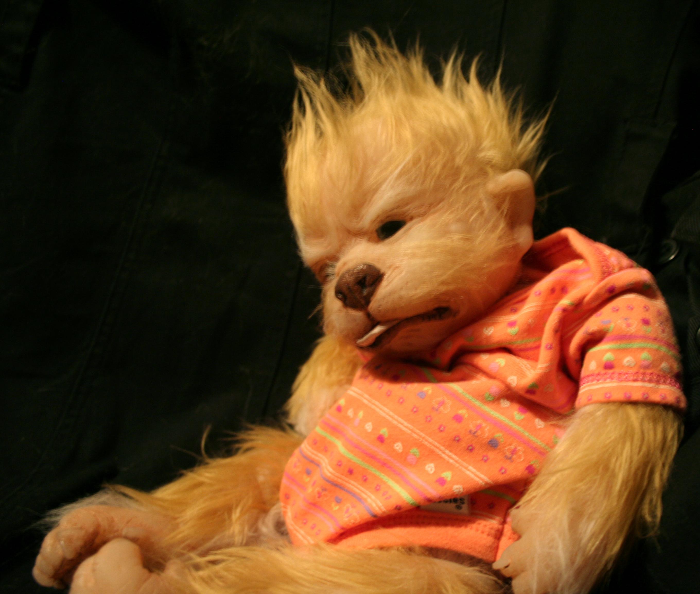 Fluffy blondie