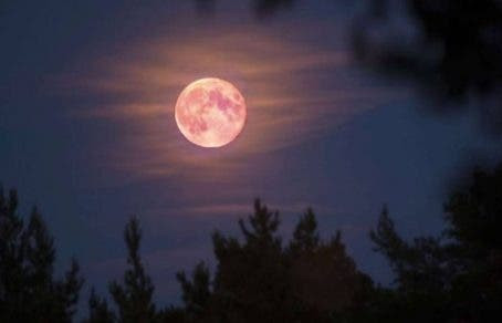 Fenômeno da Lua Rosa acontece na noite desta segunda