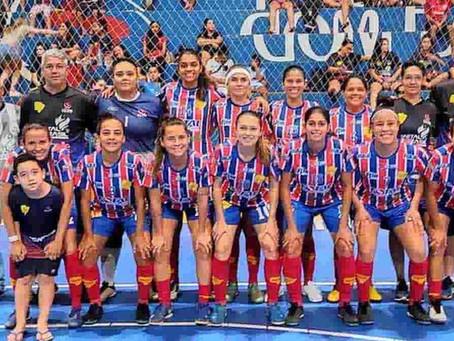 Time de MS larga na frente em 1º jogo das quartas na Copa do Brasil de Futsal feminina