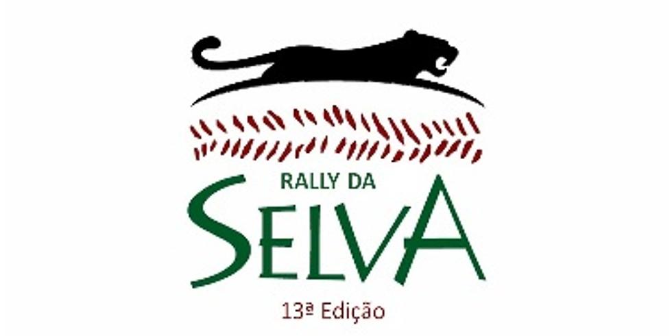 13° RALLY DA SELVA - Adiado, data a definir.