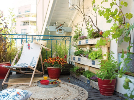 Jardinage au balcon