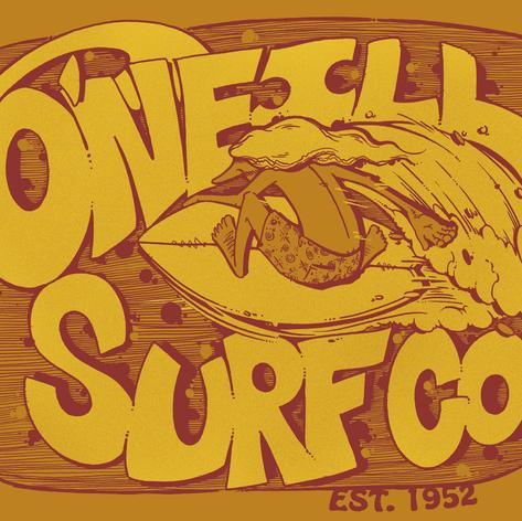 O'Neill surf graphic