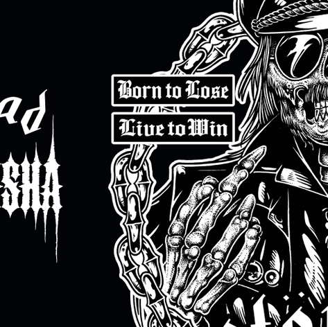 Motorhead graphic tee art