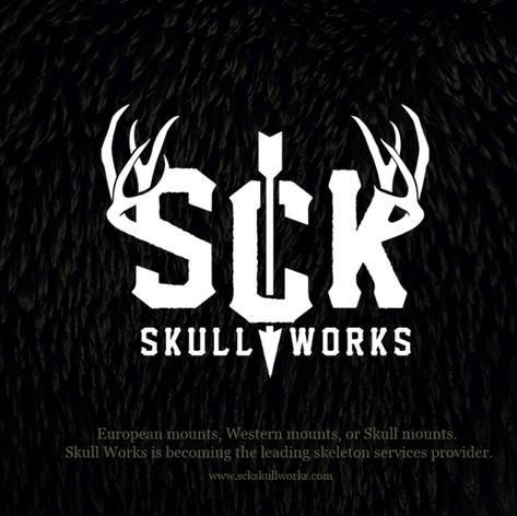 SCK Skullworks Logo
