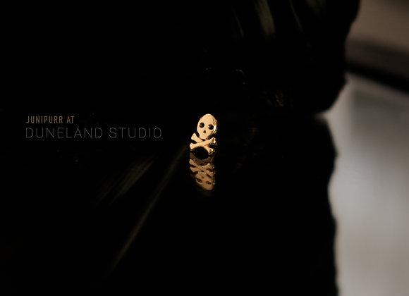 Gold Skull Corssbone