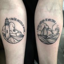 Tattoo by Joe Fryday