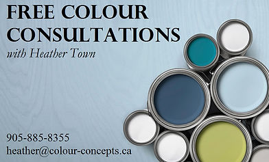 Free Colour Consultations Cobourg Port Hope Northumberland County