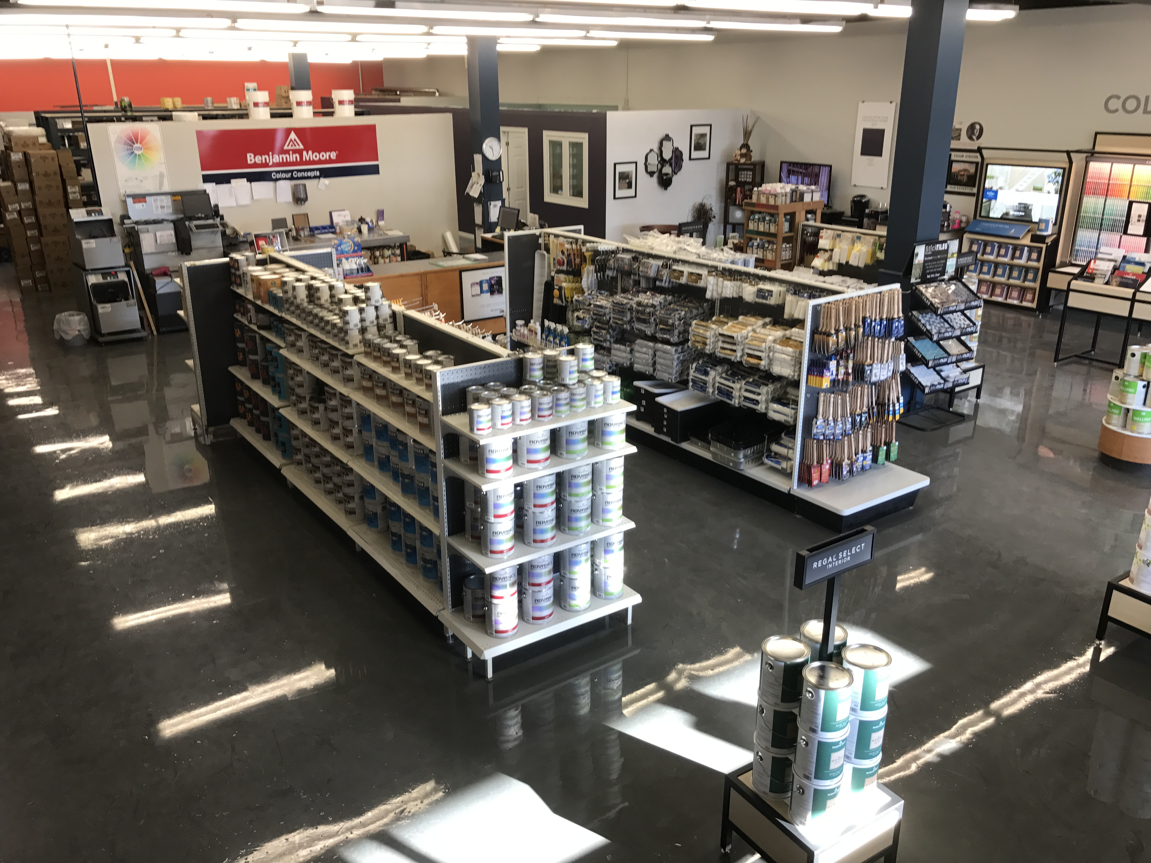More Space to Serve our Customers!