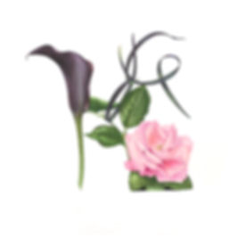Black Calla and Pink Rose shoe.jpg