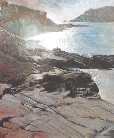 Shoreline Rock 57x66cm.JPG