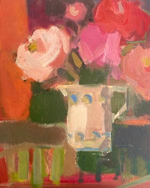 Rosie Copeland The pink peonies.jpg