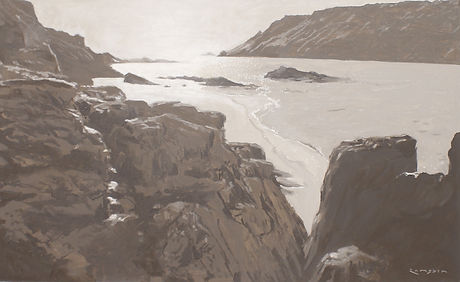 Rocks beyond Sunny Cove 77x55cm.JPG