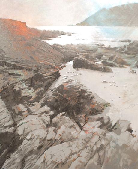 Shoreline Rocks 56x66cm.JPG