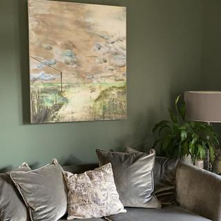Alice Cescatti in Living Room