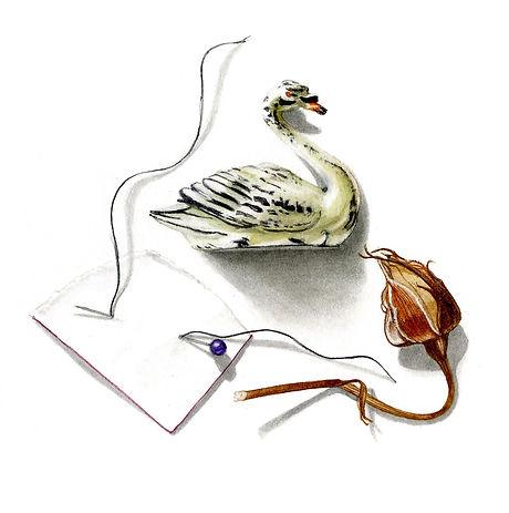 no 8. Small treasures- lead swan copy.jp