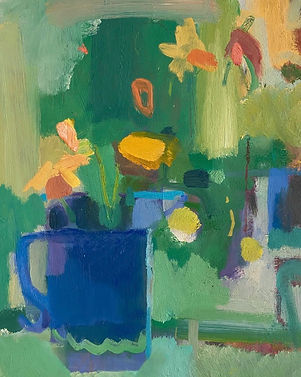 Rosie Copeand Spring Time Flowers 51x44