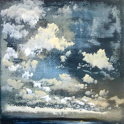 Stunning skyscape by Sophie Carter of stormy clouds.
