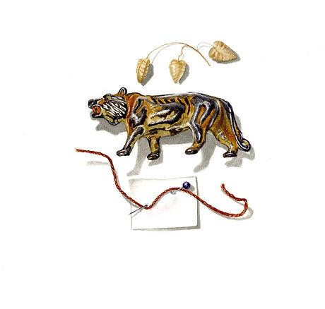 no 6. Small treasures- lead tiger. copy.