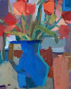 Rosie Copeland Winter Tulips 34x40.jpg