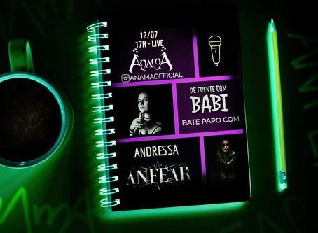 """Live Cruzada - Anfear no """"De Frente com Babi"""""""