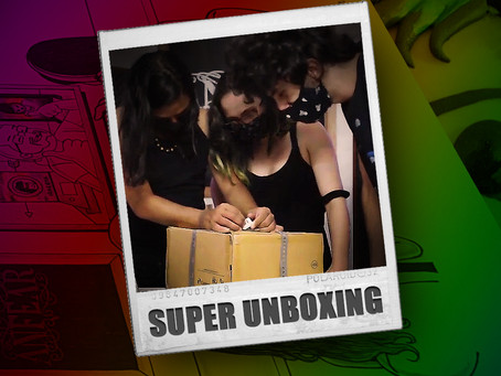 Super Unboxing da Anfear - Inside The Band