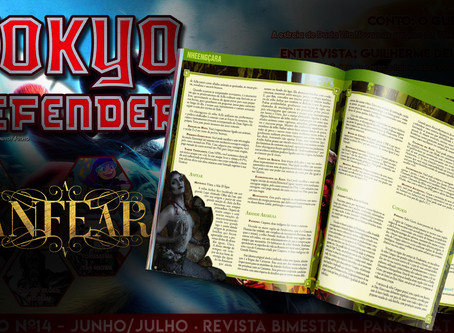 Tokyo Defender - ANFEAR entra para o universo RPG