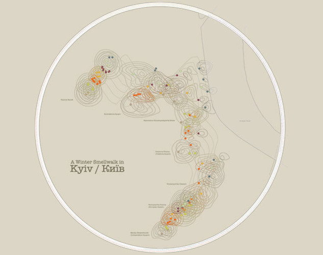 Mapping the smells of Kyiv